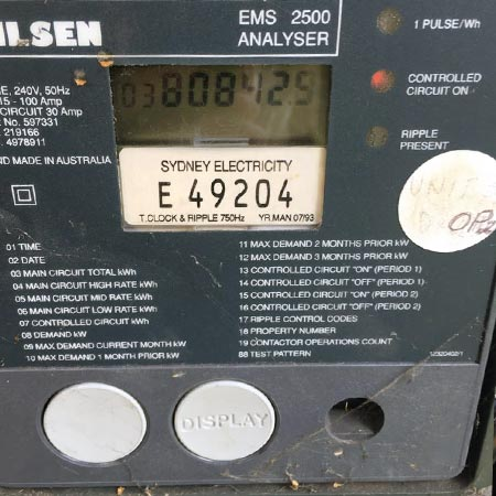 Electricity digital display meter type 1