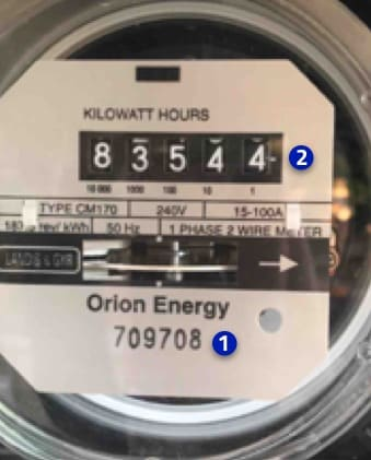 how to read your hydro meter
